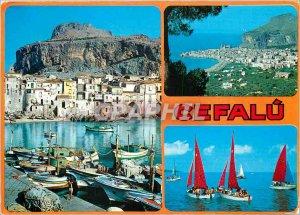 Postcard Modern Cefalu
