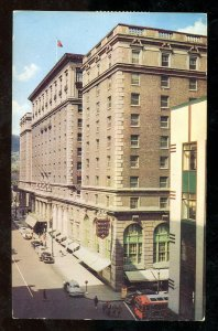 dc1174 - MONTREAL 1961 Mount Royal Hotel. Wilding Portrait Stamps