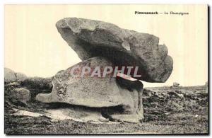 Old Postcard Ploumanach Le Champignon