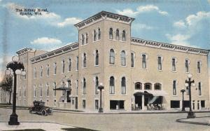 The Sidney Hotel, Sparta, Wisconsin, Early Postcard, Used in 1916