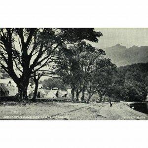 Postcard 'Ardgartan Campsite and the Cobbler'