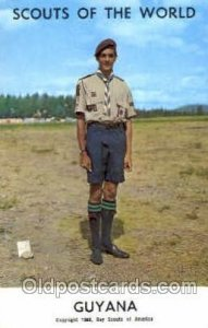 Scouts Of The World, Guyana Scout Scouting Unused