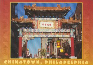 Entrance To Chinatown Philadelphia Pennsylvania