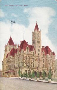 Minnesota St Paul Post Office 1915