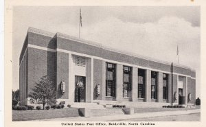 REIDSVILLE , North Carolina, 1930s ; United States Post Office