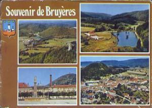 POSTAL 61127: Souvenir de Bruyeres