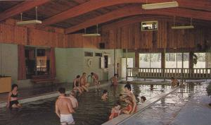 Indoor Swimming Pool, Lakelse Hotsprings On Highway 25, British Columbia, Can...