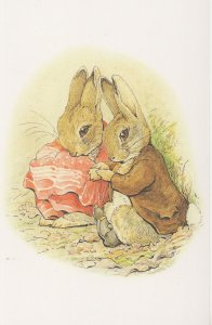 The Tale of Benjamin Bunny & Peter Rabbit Beatrix Potter Postcard