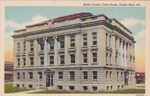 Missouri Poplar Bluff Butler County Court House Curteich
