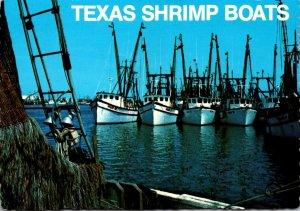 Texas Gulf Coast Shrimp Boats