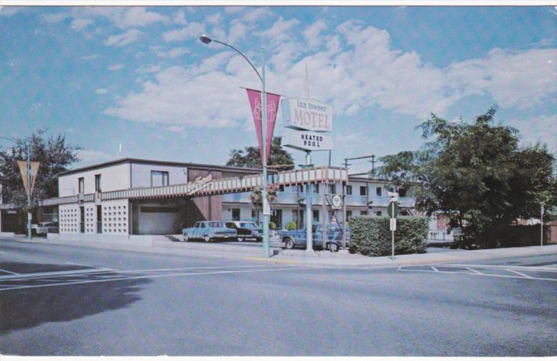 Exterior,  Inn Towner Motel,  Kelowna,  B.C.,   Canada,  40-60s