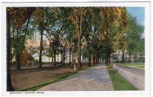 Bangor, Maine, Broadway