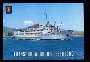 FE3561 - Spanish Ferry - Virgen de Africa , built 1953 - postcard