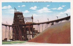 Michigan Iron Mountain Iron Ore Mining