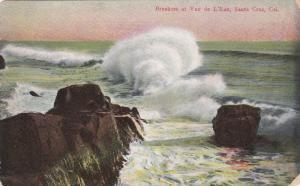 Breakers at Vuc de L'Eau, Santa Cruz, California, PU-1910
