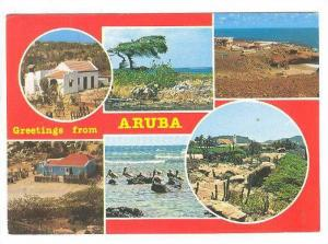 Scenic Greetings from Aruba,40-60s