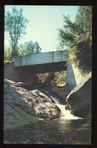 Indian Lake, New York/NY Postcard, Squaw Brook, Adirondacks