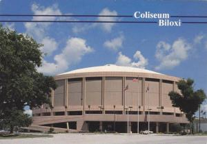 Exterior View, The Coliseum, Biloxi, Mississippi, 50-70´s