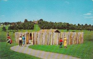 Fort Necessity Located Ten Miles East Of Uniontown Pennsylvania