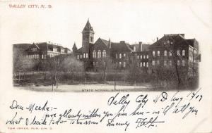 Valley City North Dakota~State Normal School & Grounds~1907 B&W Postcard