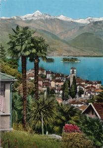 Switzerland, Suisse, Lago Maggiore, Brissago, 1960s unused Postcard