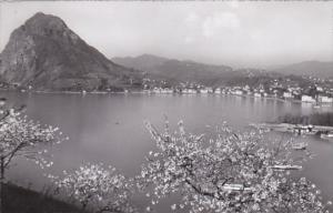 Switzerland Lugano Monte San Salvatore 1957 Photo