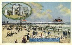Heinz Ocean Pier Atlantic City NJ 1917