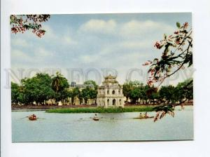271696 VIETNAM HANOI Tortoise tower old photo postcard