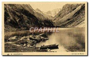 Old Postcard Cauterets Lake Gaube