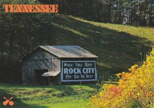 Tennessee The Volunteer State Rock City