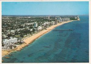 Florida Deerfield Beach Aerial View Of Tropical Deerfield Beach Florida
