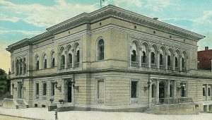Postcard Early View of Post Office  in Rome, GA.   .  R2