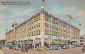 Cohen Building, The Big Store, St. James Building, JACKSONVILLE, Florida, 193...