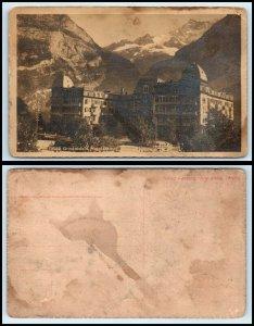 SWITZERLAND Postcard - Grindelwald, Hotel Baren FF