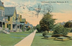 Rochester NY, New York - Homes at Portsmouth Terrance - pm 1912 - DB