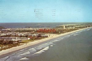 THE WORLD'S BEST BEACH - COCOA BEACH, FL five miles open for driving 1966