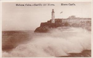 Cuba Havana Morro Castle and Lighthouse Real Photo
