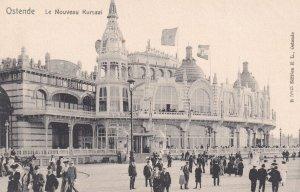 OSTENDE, Belgium, 1900-1910's; Le Nouveau Kursaai