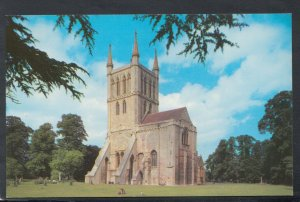 Worcestershire Postcard - The Abbey, Pershore  T7192