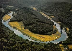 Belgium Botassart La Semois Le tombeau du Geant River Panorama