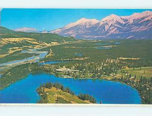 Unused Pre-1980 TOWN VIEW SCENE Jasper Alberta AB p8366