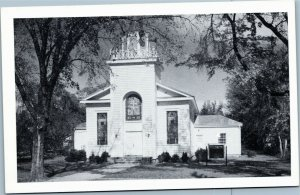 postcard North Carolina - Halifax Baptist Church