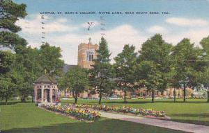 Campus St. Mary's College, Notre Dame, near South Bend, Indiana,  PU_1951
