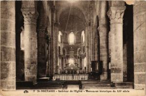 CPA St-NECTAIRE Interieur de l'Église - Monument Historique (408288)
