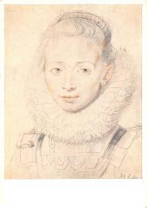 Peter Paul Rubens 1577-1640 Painting drawing portrait