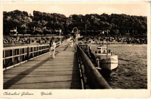 CPA Ostseebad Göhren. Brücke. GERMANY (663026)