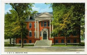 The YWCA - Brockton, MA Massachusetts - White Border