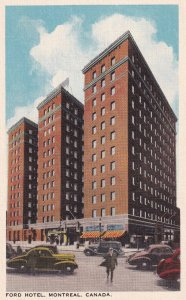 MONTREAL, Quebec, Canada, 1930-1940s; Ford Hotel