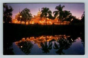 Orlando FL-Florida, Walt Disney World Crystal Palace Restaurant Chrome Postcard