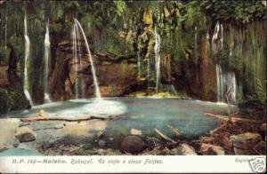 portugal, MADEIRA, Rabaçal, 25 Fountains (1910s)